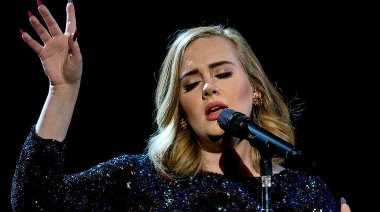 Adele is favored to win in several categories