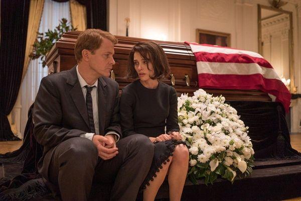 Peter Sarsgaard and Natalie Portman in 'Jackie,' for