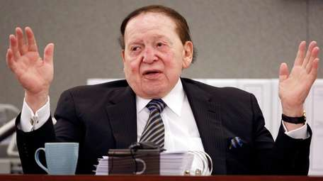 Las Vegas Sands Corp. Chairman and CEO Sheldon