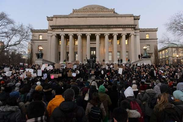 Columbia University undergraduate and graduate students are joined