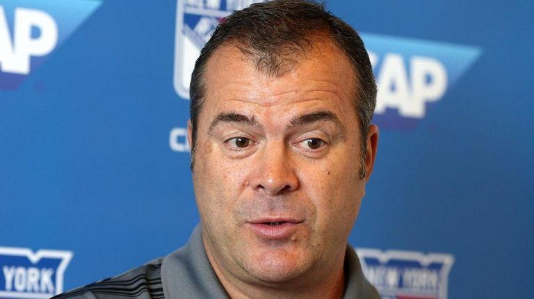 Rangers head coach Alain Vigneault said Cody Eakin's