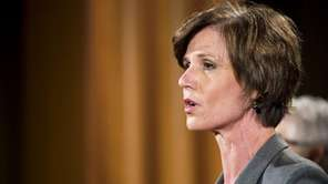 President Donald Trump fired acting U.S. Attorney General