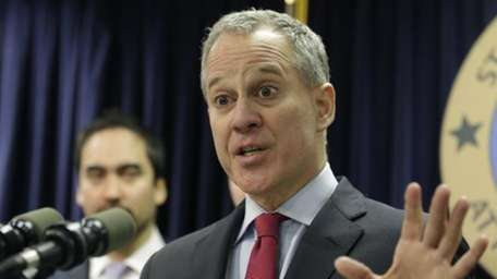New York Attorney General Eric Schneiderman at a
