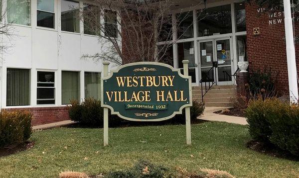 Westbury Village Hall is seen on Jan. 19,
