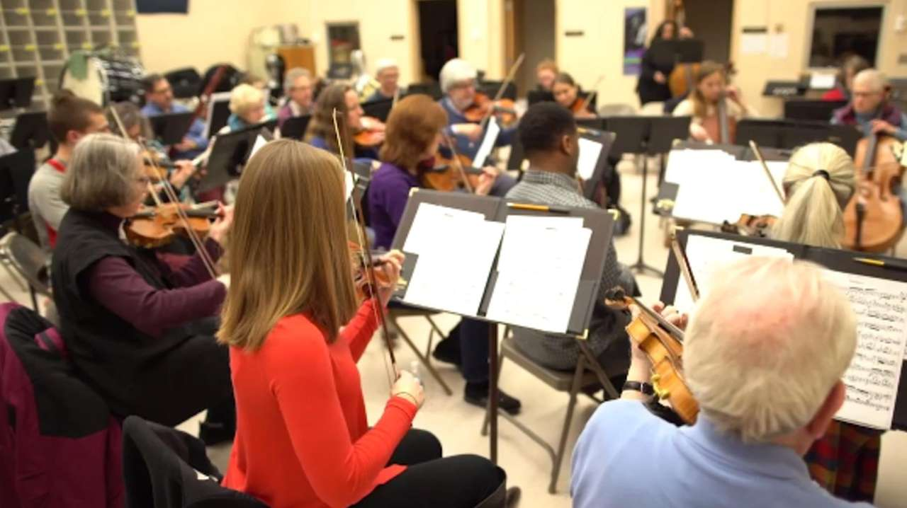 The Northport Symphony Orchestra is made up of doctors,