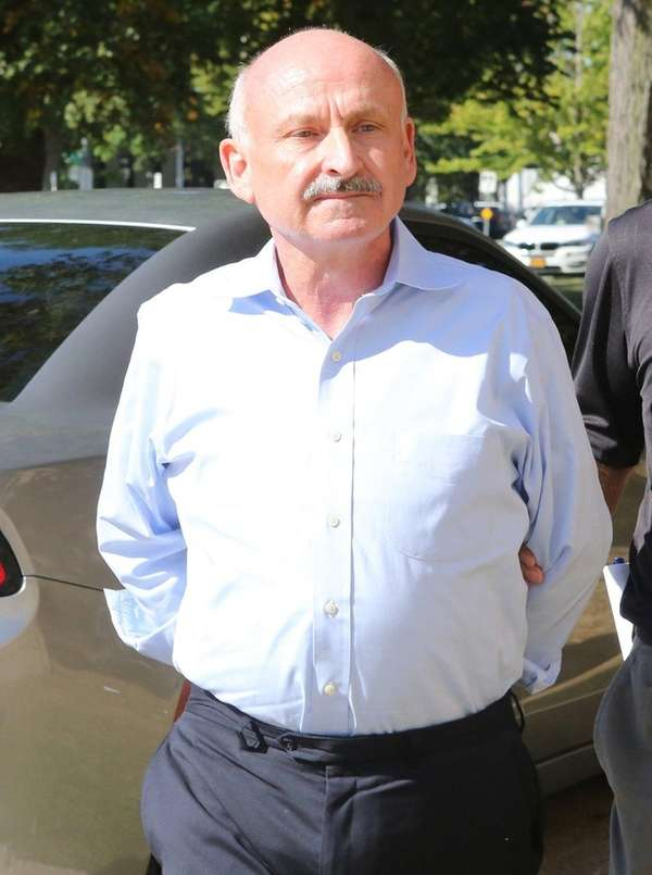 Gerard Terry was arrested by the federal authorities