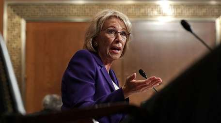 Betsy DeVos' nomination for education secretary was confirmed