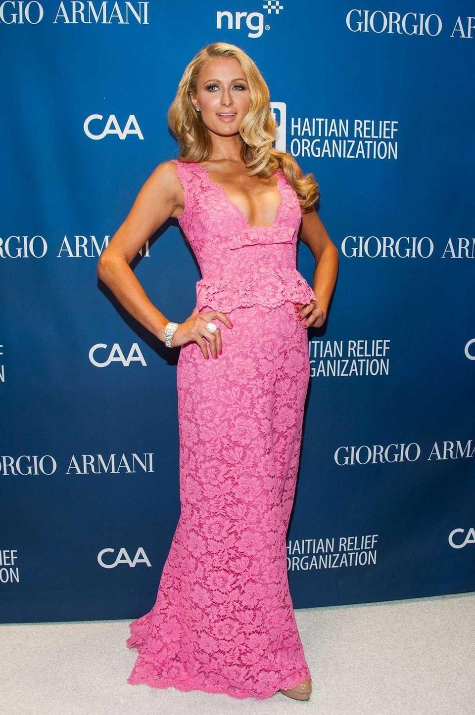 Paris Hilton arrives at the 3rd Annual Sean