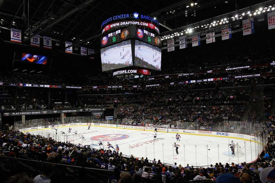 First season at Barclays Center Attendance ranking: 28th