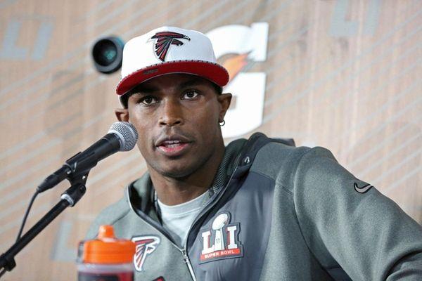 Atlanta Falcons receiver Julio Jones is a low-key