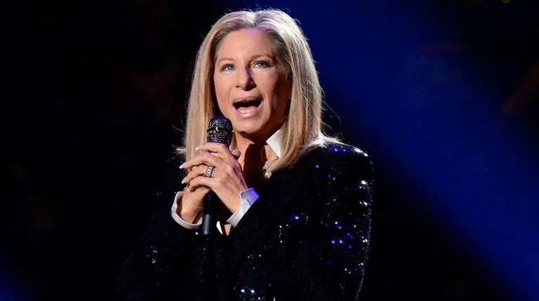 Barbra Streisand, who performed at Barclays Center in