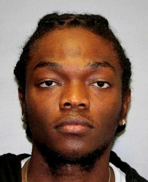 Oniel Sharpe Jr., 25, of Springfield Gardens, Queens,