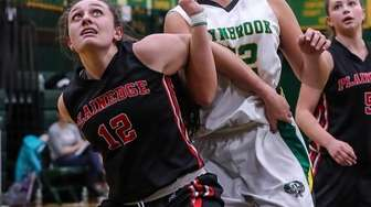 Plainedge's Julianna Keenan takes control under the boards