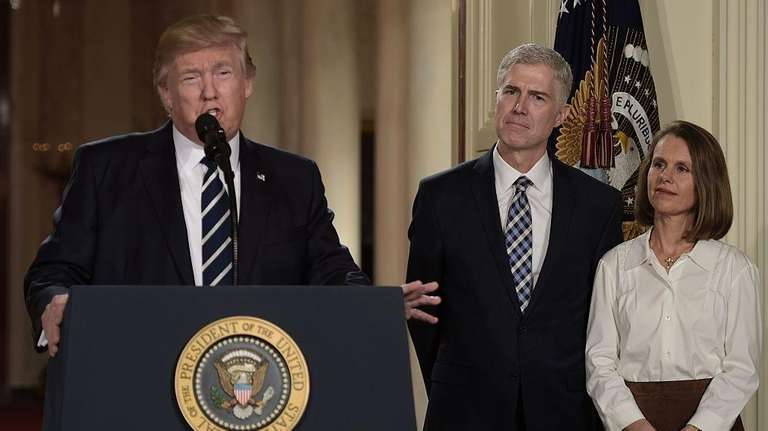 Judge Neil Gorsuch and his wife Marie Louise