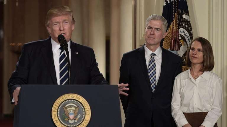 President Donald Trump named federal appeals court Judge