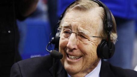 Veteran broadcaster Brent Musburger prepares for his last