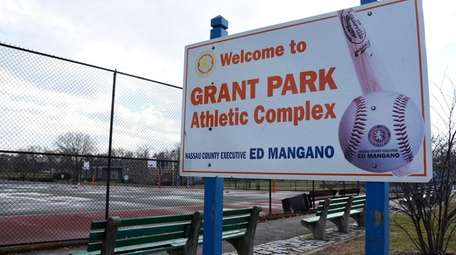 Grant Park in Hewlett on Jan. 26, 2017.