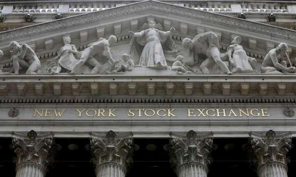 The facade of the New York Stock Exchange