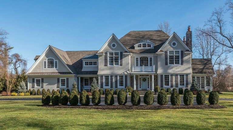 This Lloyd Neck Colonial is on the market