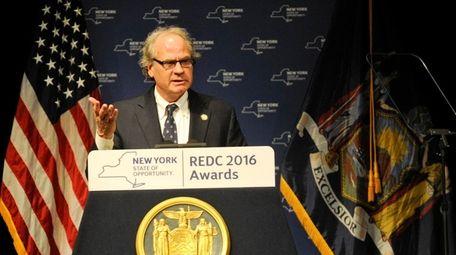 State economic development chief Howard Zemsky in Albany