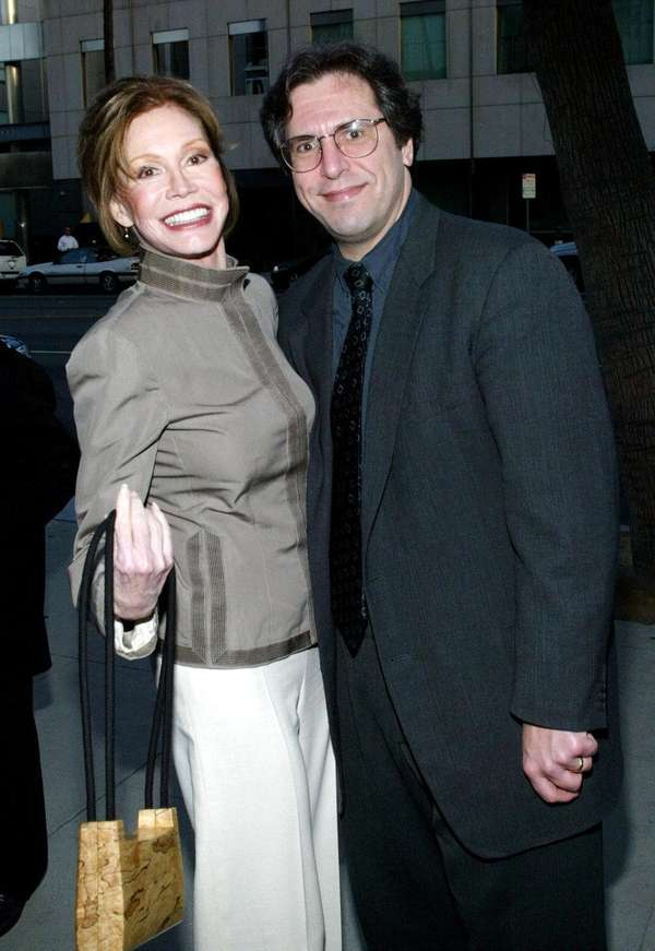 Mary Tyler Moore and her husband, Dr. Robert