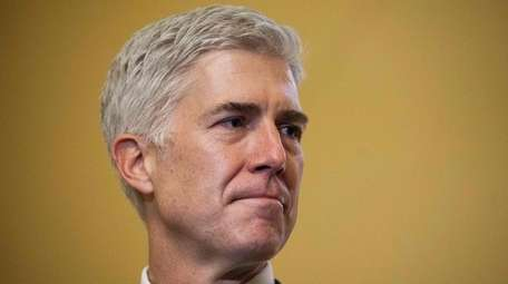 Supreme Court Nominee Neil Gorsuch is pictured during