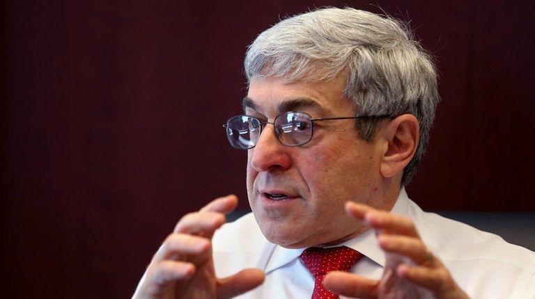 Henry Schein CEO Stanley Bergman on Feb. 11,