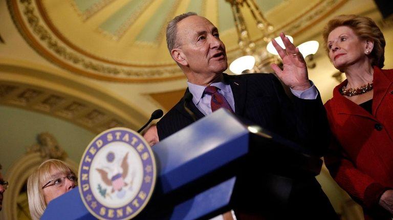 Senate Minority Leader Chuck Schumer said Democrats will