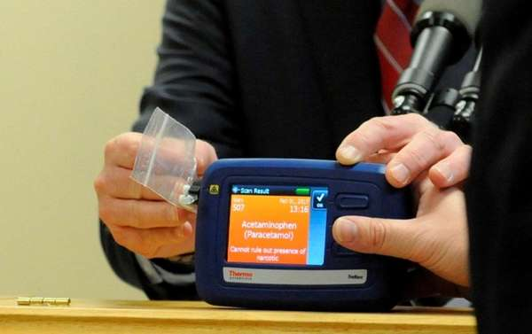 Suffolk cops using TruNarc laser device to ID illegal drugs Naples Private Investigator Detective