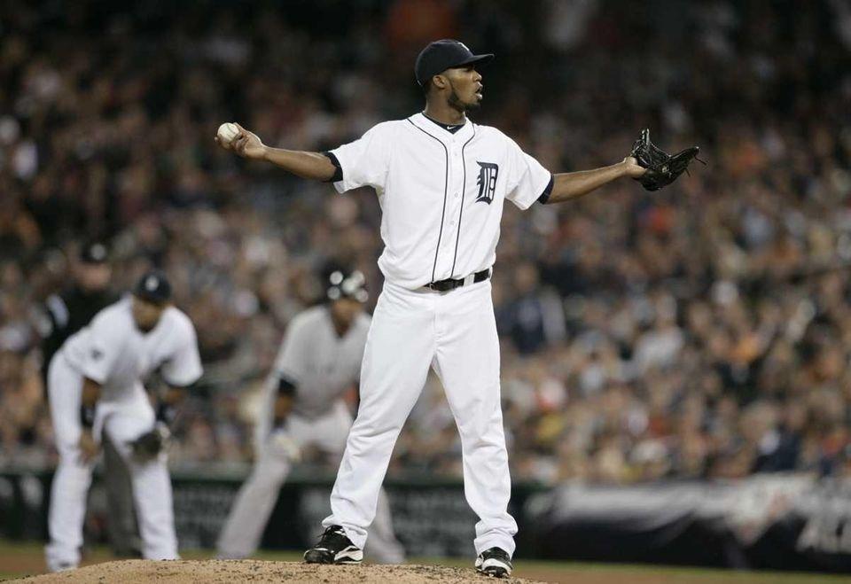 When a caller referenced Tigers pitcher Al Alburquerque