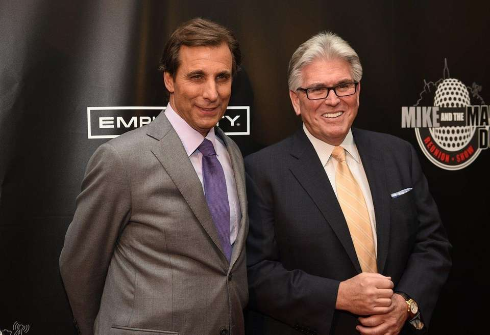 Mike Francesa and Chris Russo had several, relatively