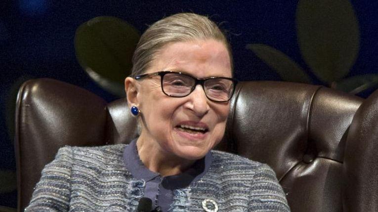 U.S. Supreme Court Associate Justice Ruth Bader Ginsburg