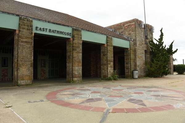The East Bathhouse at Jones Beach, here on