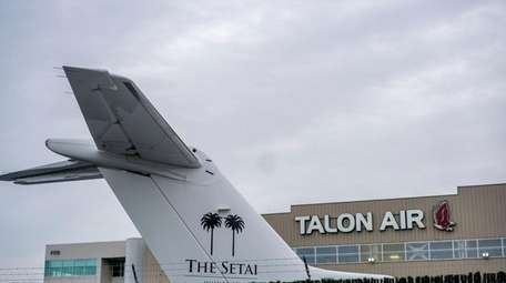 Talon Air, seen here Feb. 1, 2017, was