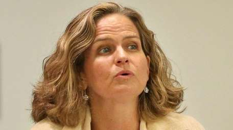 Nassau County Legislator Laura Curran, who is seeking