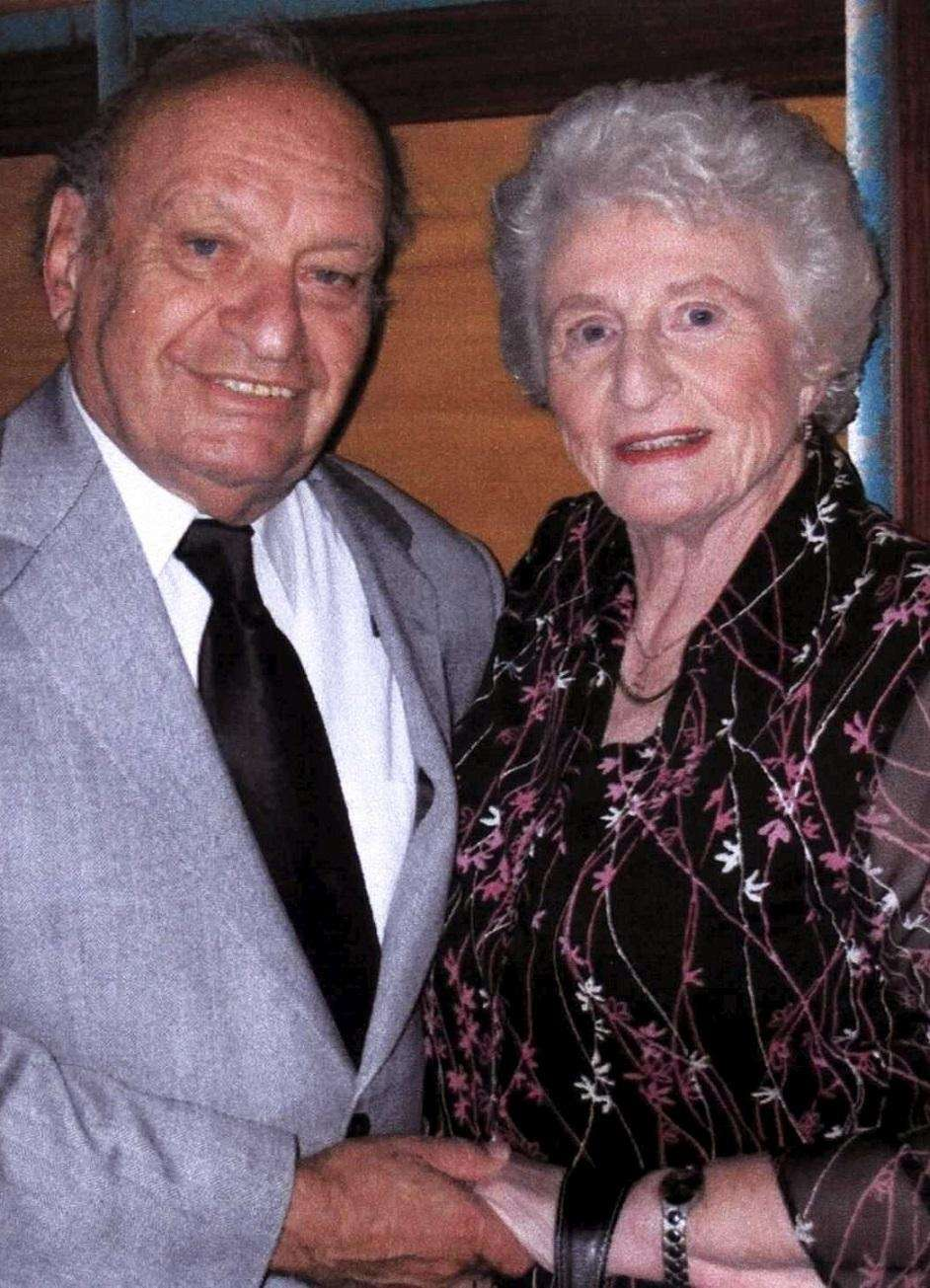 Mira and Rolf Grayson of Melville met and