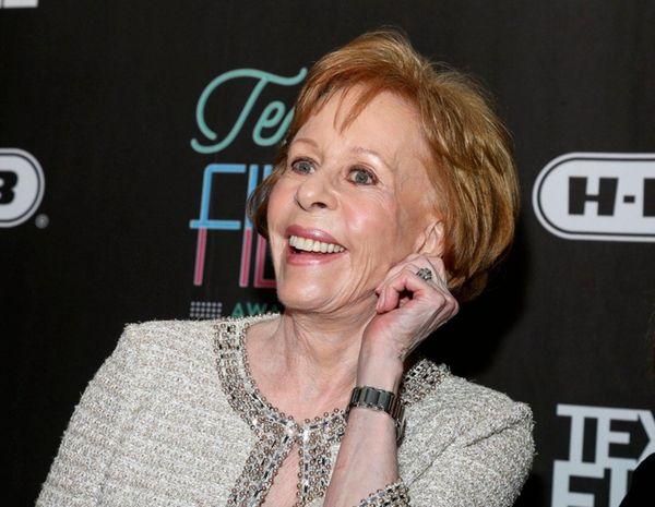 Actress-comedian Carol Burnett appears at the 2016 Texas