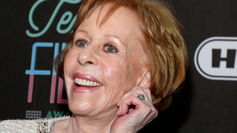 Actress-comedian  Carol Burnett appears at the 2016 Texas
