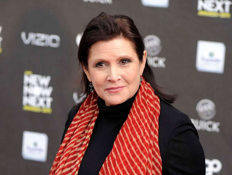 The late Carrie Fisher had spoken candidly about