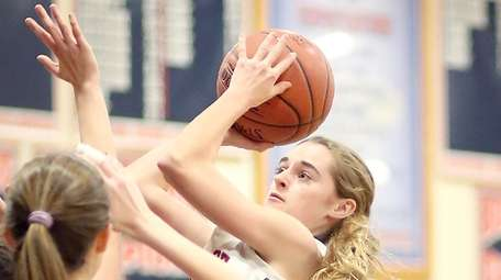 South Side's Katie McMahon shoots the jumper during