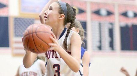 South Side's Jenna Lopez, who scored 16 points