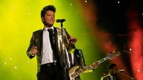 Super Bowl XLVIII halftime headliner Bruno Mars proved