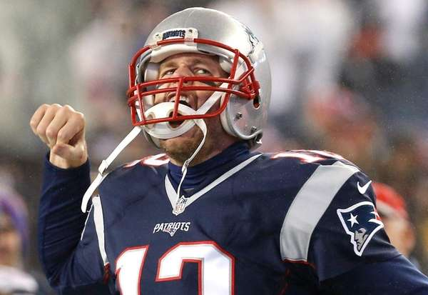 Tom Brady, here against Pittsburgh in the AFC