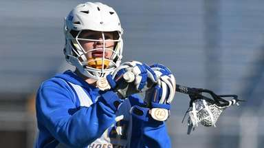 Brendan Kavanagh #27 of Hofstra University makes a