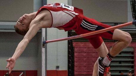 Smithtown East's Daniel Claxton (814, high Jump 6'9