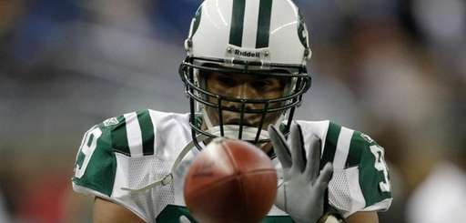 New York Jets' Jason Taylor on Nov. 7,