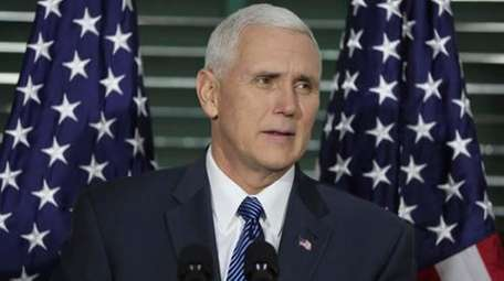 Vice President Mike Pence speaks at Congress Hall