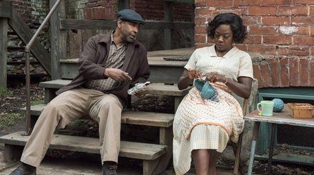 Denzel Washington and Viola Davis star in