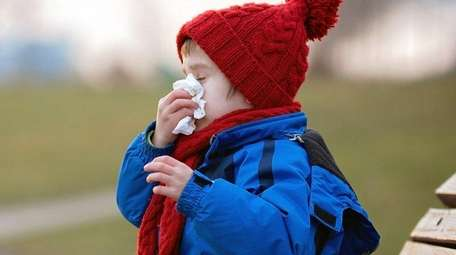 Extra mucus produced by the body in winter