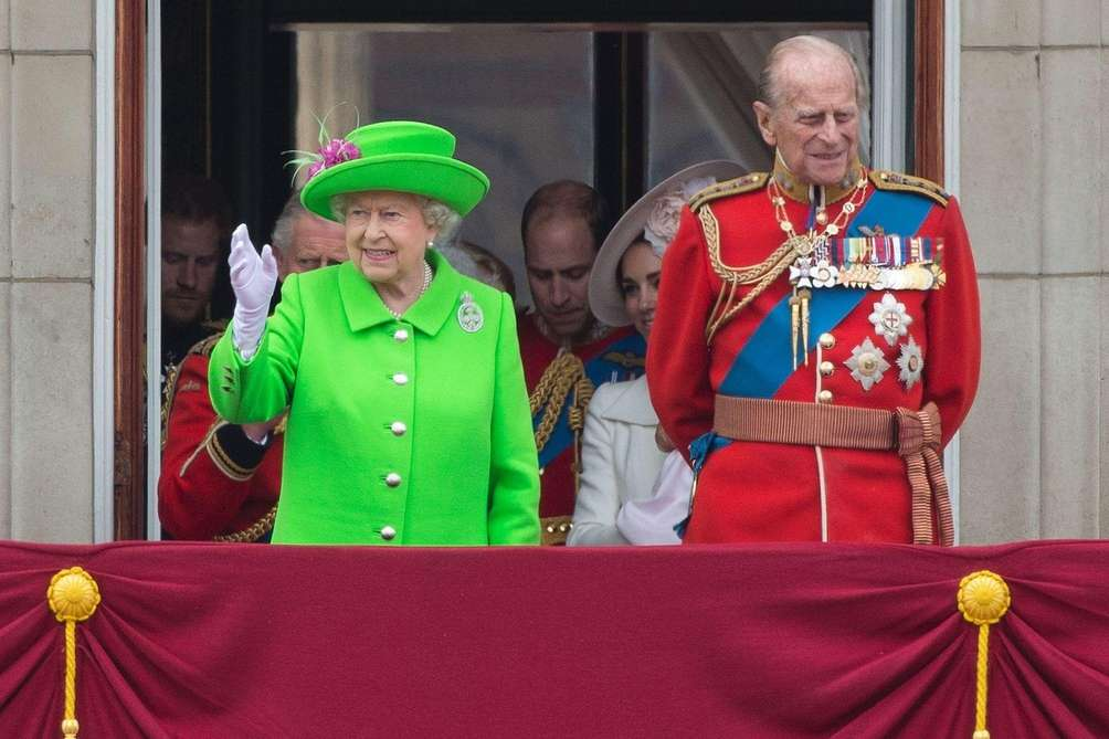 Queen Elizabeth II and Prince Philip, Duke of